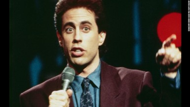 SEINFELD -- Pictured: Jerry Seinfeld as Jerry Seinfeld (Photo by NBC/NBCU Photo Bank via Getty Images)